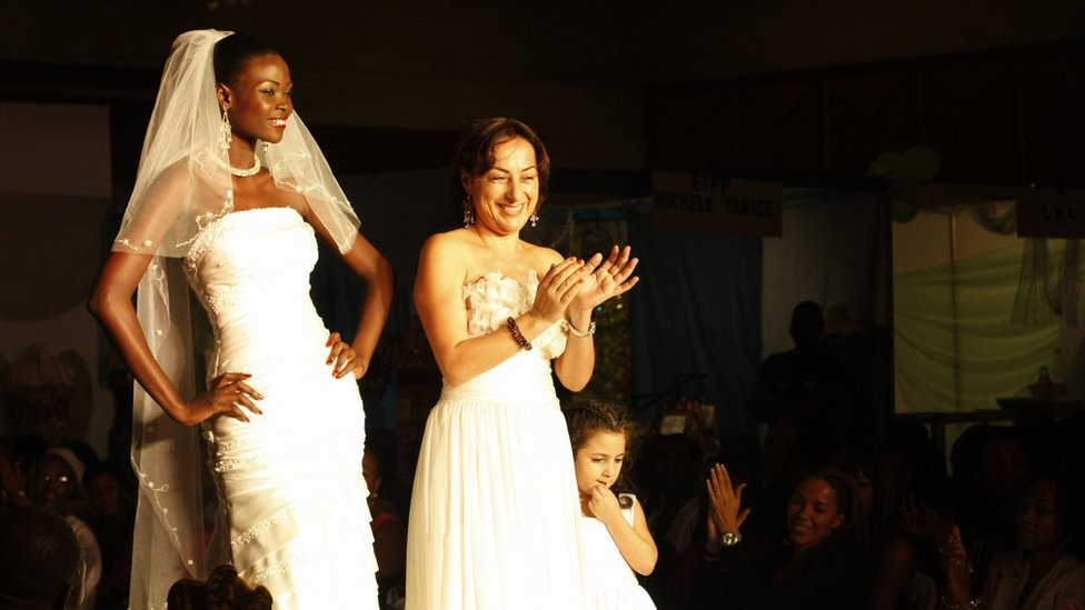 Ivory Coast Wedding Dresses