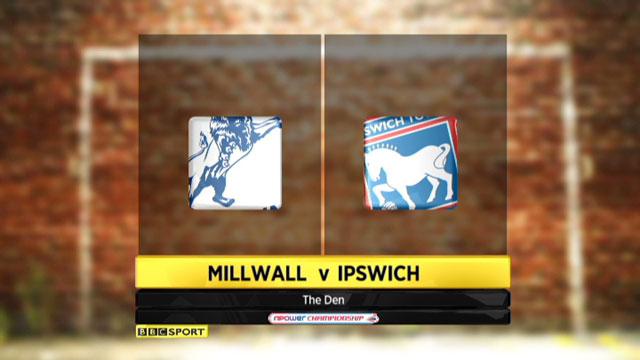 Millwall v Ipswich