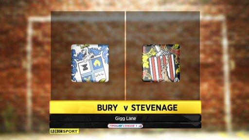 Bury 1-2 Stevenage