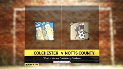 Colchester 4-2 Notts County