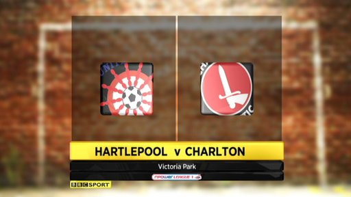 Hartlepool 0-4 Charlton