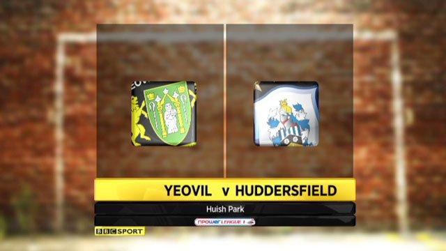 Yeovil v Huddersfield