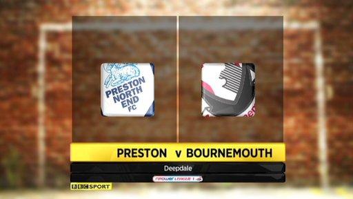 Preston 1-3 Bournemouth