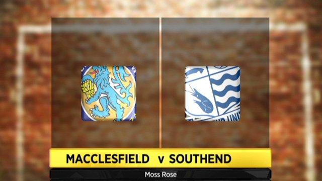 Macclesfield 0-2 Southend