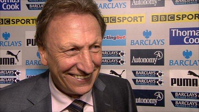 QPR manager Neil Warnock