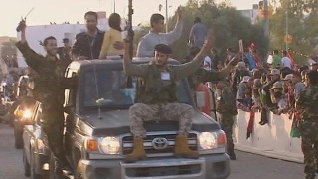 People in Misrata