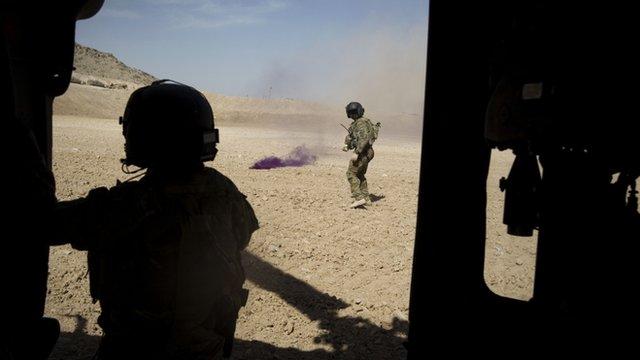 Milwyr yn Afghanistan
