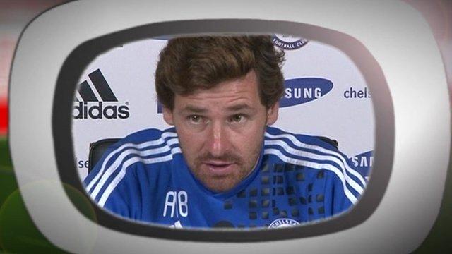Chelsea Manager Andre Villas-Boas