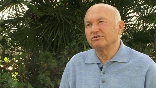 Yuri Luzhkov,former Mayor of Moscow