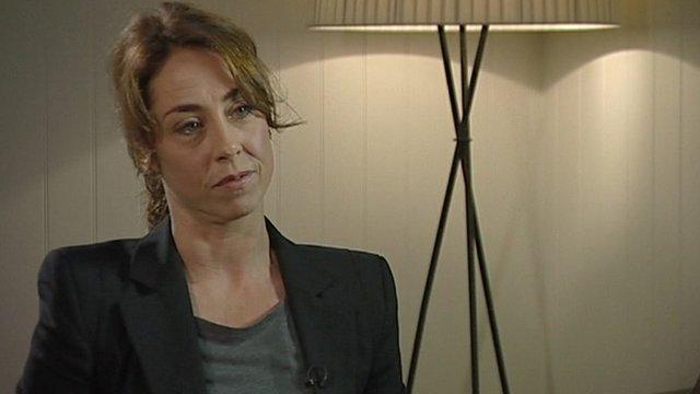 Actress Sofie Grabol