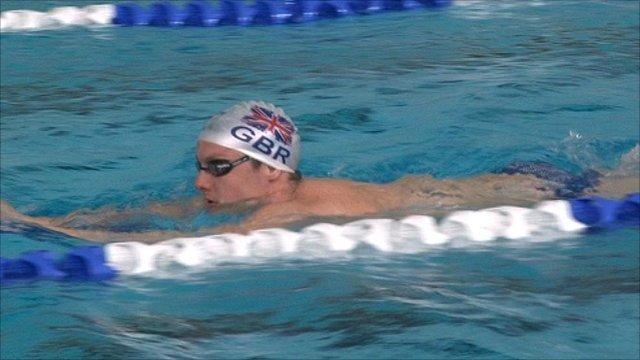 Scottish swimmer Jak Scott