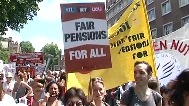 Pensions protest in June