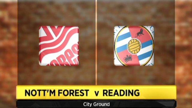 Highlights - Nottingham Forest 1-0 Reading