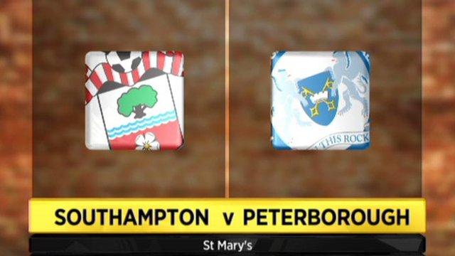 Highlights - Southampton 2-1 Peterborough