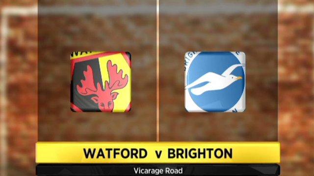 Highlights - Watford 1-0 Brighton