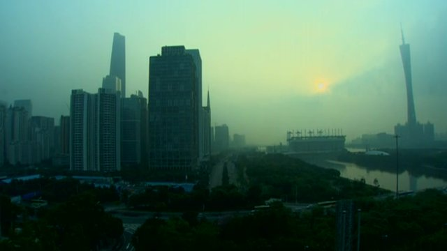 Guangdong skyline