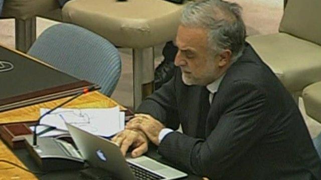 International Criminal Court's chief prosecutor, Luis Moreno-Ocampo