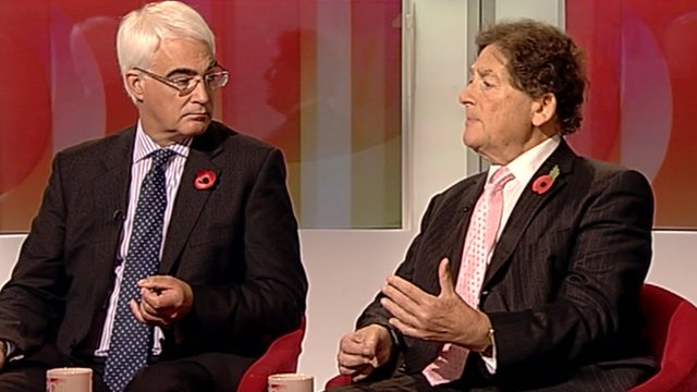 Alastair Darling and Lord Lawson