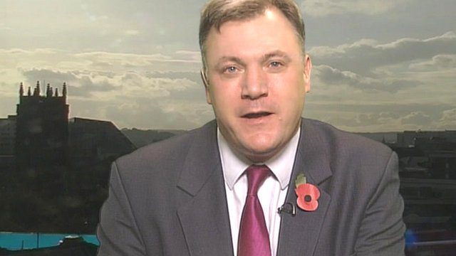 Shadow chancellor Ed Balls says the IMF resources should not bail out Spain and Italy as that is the European Central Bank's job.