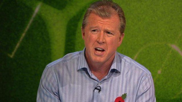 Former Nottingham Forest boss Steve McClaren