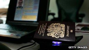 Biometric passport