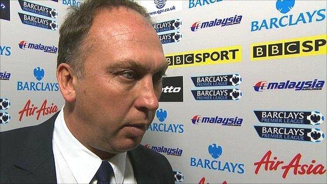 Manchester City coach David Platt