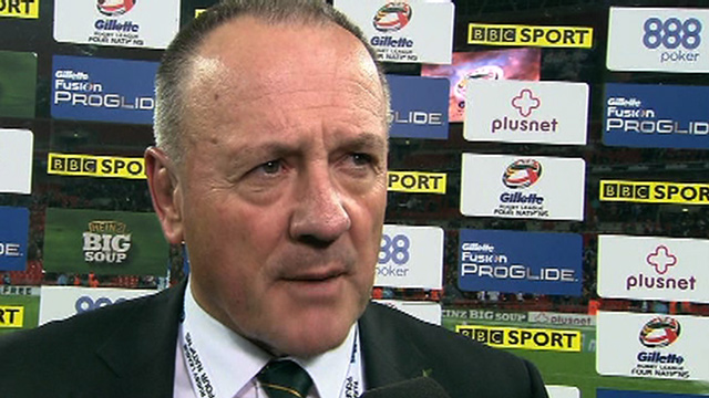 Australia's coach Tim Sheens