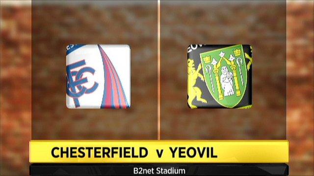 Chesterfield v Yeovil