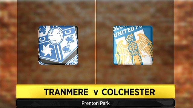 Tranmere v Colchester