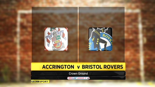 Accrington Stanley 2 - 1 Bristol Rovers