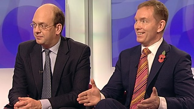 Mark Reckless and Chris Bryant