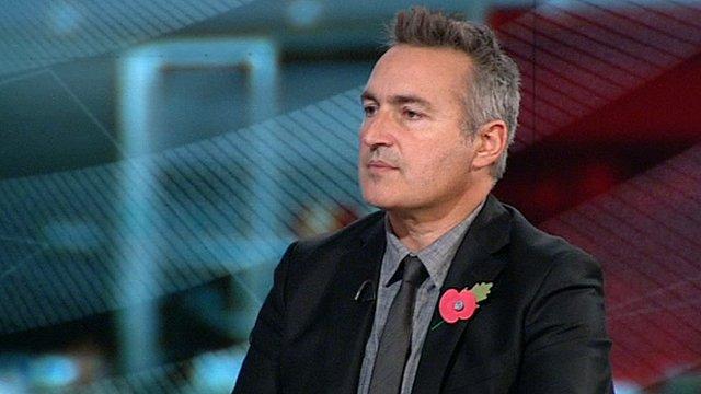 BBC Newsnight reporter Richard Watson