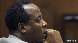 Dr Conrad Murray 3 November 2011