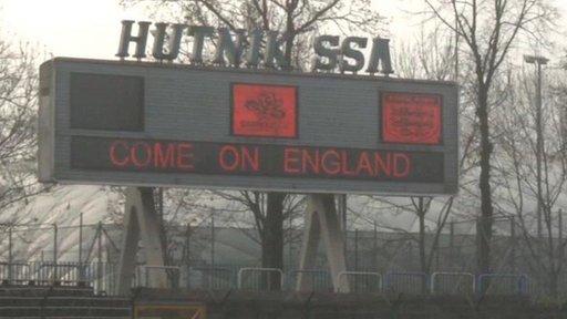 England's training base for Euro 2012 Krakow, Poland