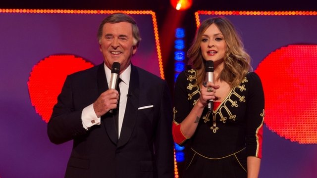 Sir Terry Wogan and Fearne Cotton