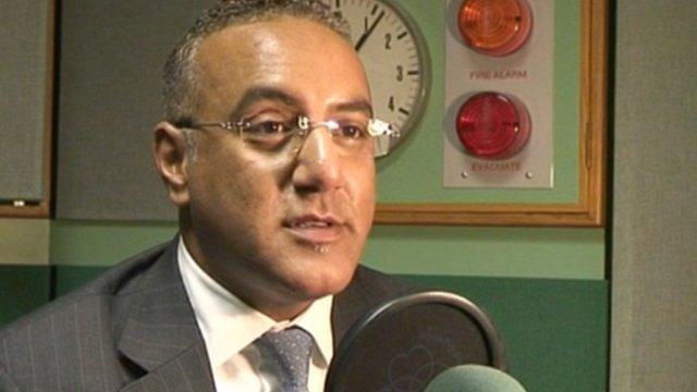 Kenya's Tourism Minister, Najib Balala speaks to BBC
