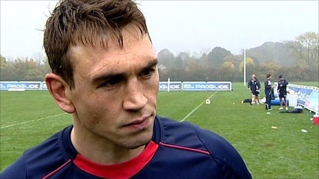 England stand-off Kevin Sinfield