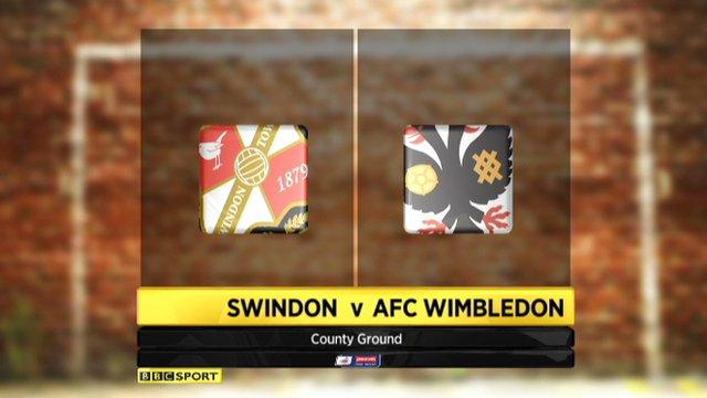 Swindon 1-1 AFC Wimbledon