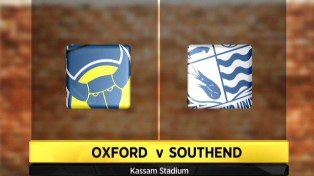 Oxford Utd 0-1 Southend
