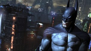 Screenshot from Arkham City