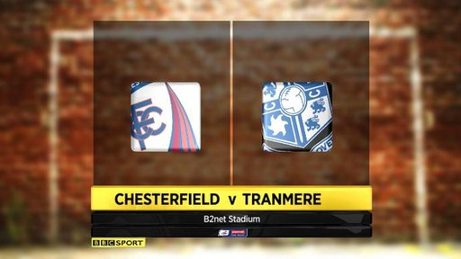 Chesterfield 4-3 Tranmere