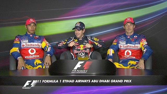 Abu Dhabi GP qualifying - top three drivers
