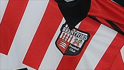 Brentford shirt and badge