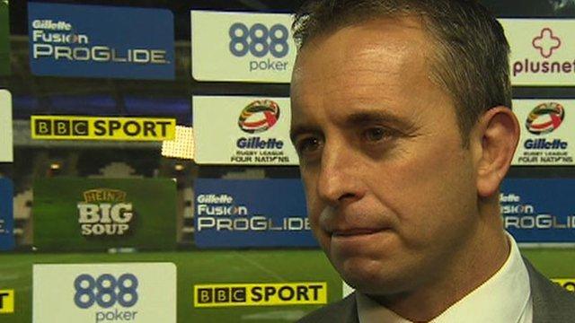 England boss Steve McNamara