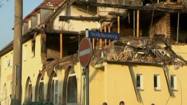 Building believed to have housed alleged neo-Nazis