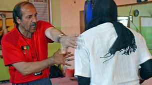 Boxing trainer Nasar