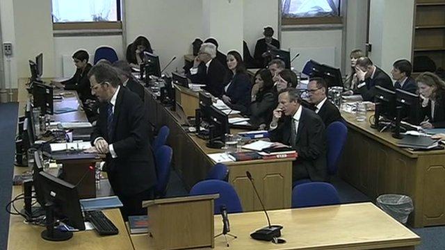 Leveson Inquiry hearing