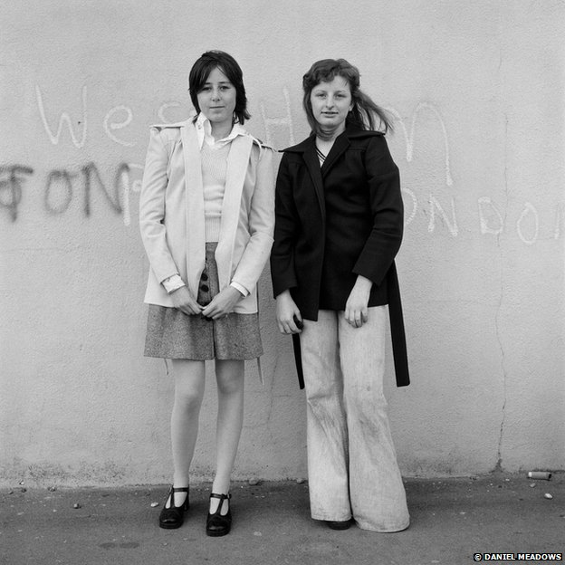 Portrait from the Free Photographic Omnibus, Brighton, Sussex, May 1974