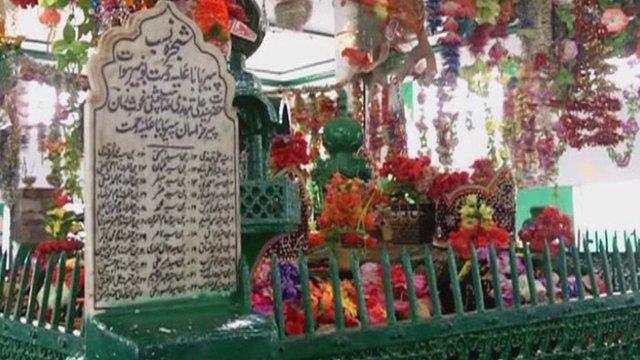 Shrine of a Sufi saint