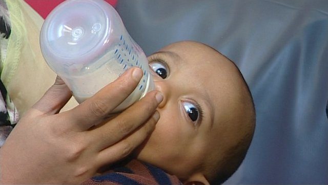 Eight-month-old Iyaad Syed.